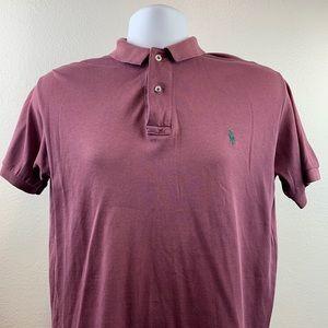 Polo by Ralph Lauren Purple Men Casual Shirt Sz L